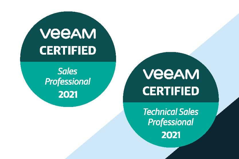 Nous sommes certifié VEEAM !